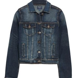 JUST USA Anjuli Dark Wash Denim Jacket